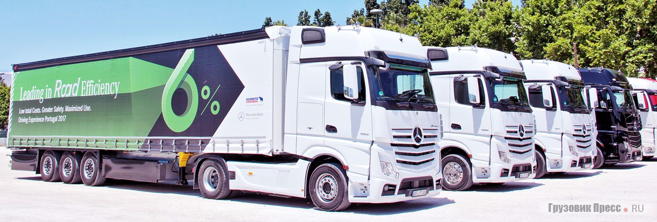 Тест-драйв Mercedes-Benz Actros MP4 1853 LS