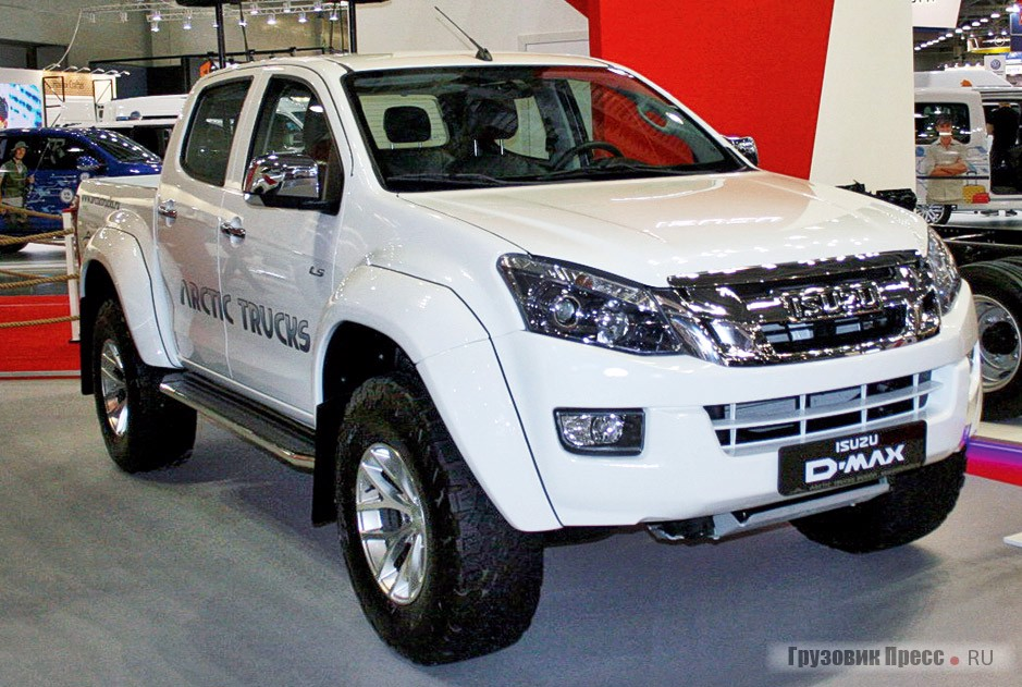 Пикап Isuzu D-Max Energy Artic Truck AT35