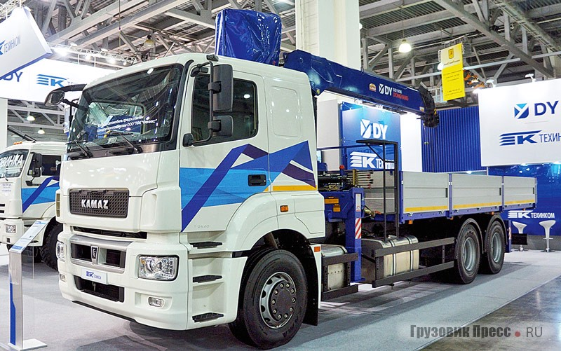 Model 780678 on the chassis KAMAZ-652075