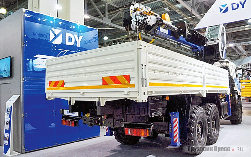 Flatbed truck SPM-732407 on the chassis KAMAZ-43118-46