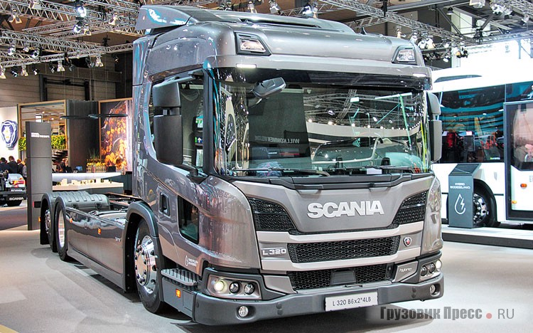 International Truck of the Year 2019 – 2 место – Scania Urban L/P-серии