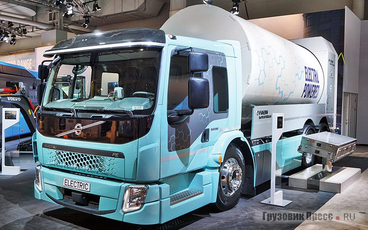 International Truck of the Year 2019 – 3 место – Volvo FH LNG