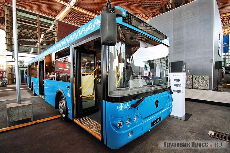 GAZ Bus LiAZ-5292 Mosgortrans