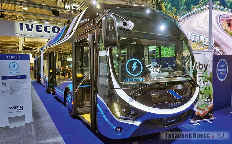 IVECO Crealis 18 m In-Motion-Charging