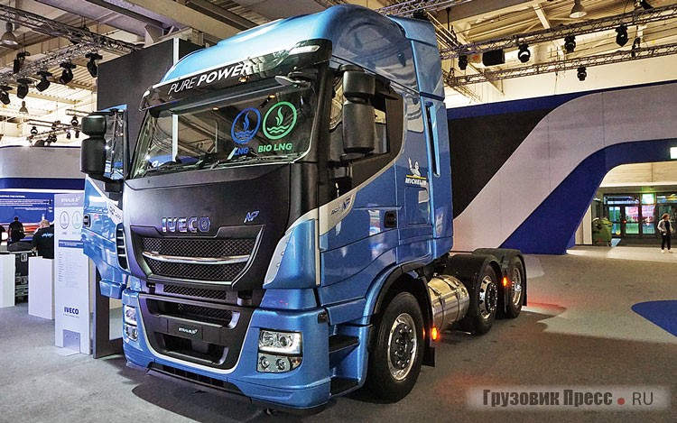 IVECO Stralis CNG AS440S46TX/P NP 6x2
