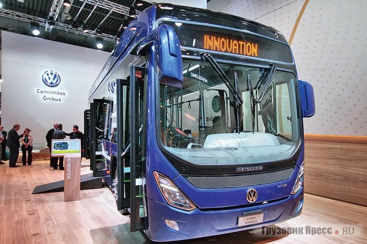Volkswagen eFlex с кузовом Marcopolo Torino Low