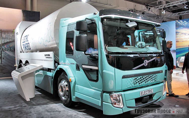 Volvo FE Electric Faun Rotopres