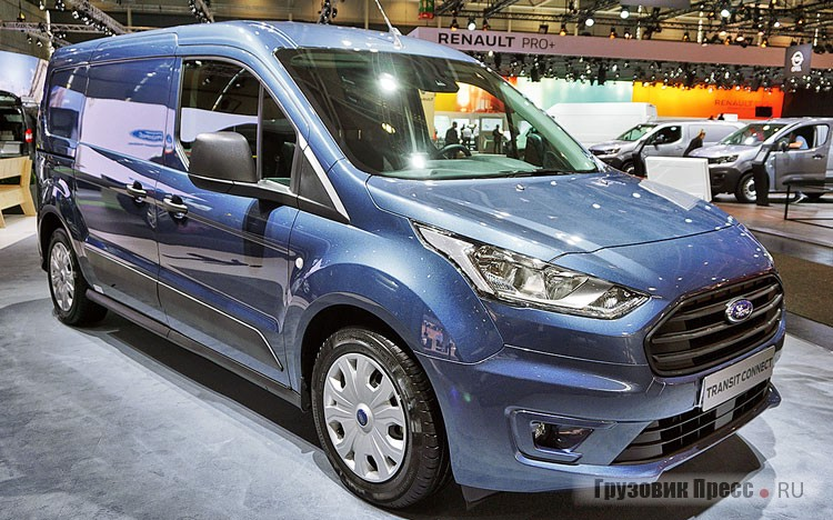 Ford Transit Connect – 3 место