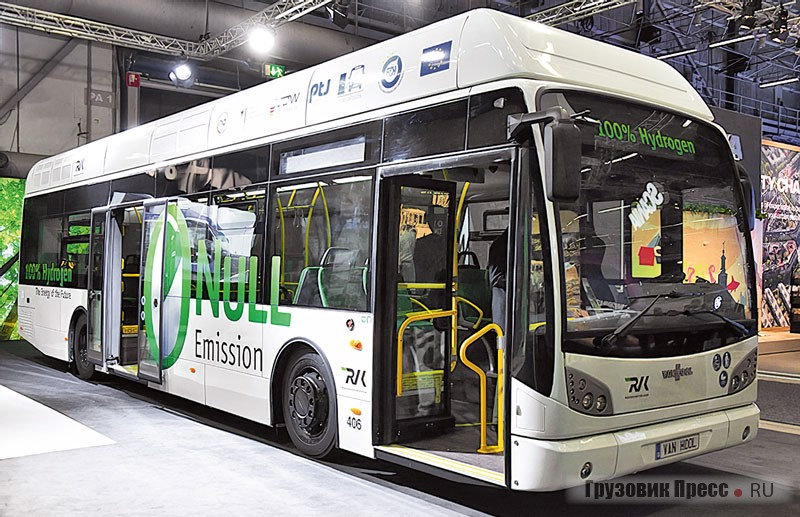Водородный электробус Van Hool A330 Fuel Cell