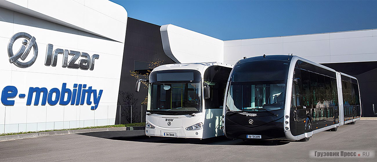 Электробус Irizar ie Bus 12 в трамвайном дизайне ie Tram Design