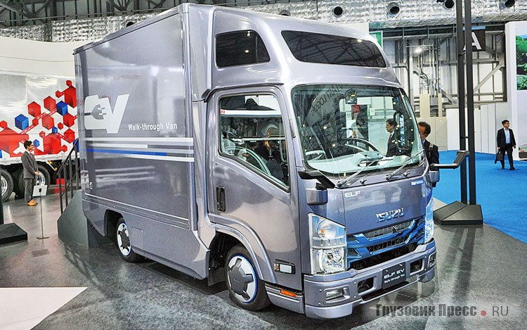 [b]Isuzu ELF EV Walk-through Van[/b] на электротяге