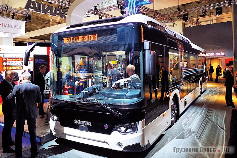 Scania Citywide Electric LF на шасси Scania N4X200