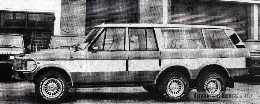 Range Rover от Wood & Pickett