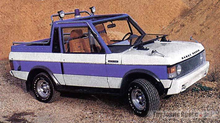 Wood & Pickett: Range Rover Special