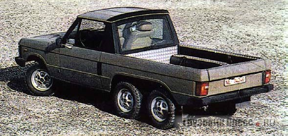 Пикап из Range Rover от Schulz Automobile