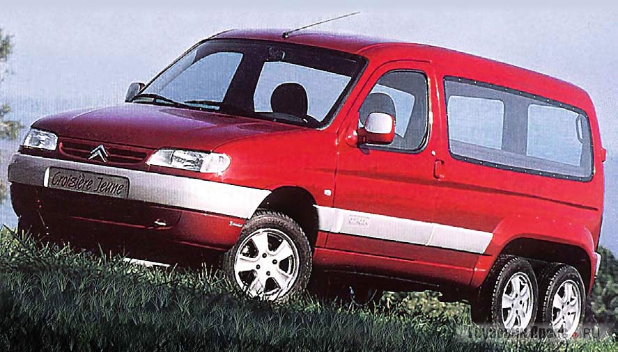 Citroen Berlingo 6x6 от Франко Сбарро