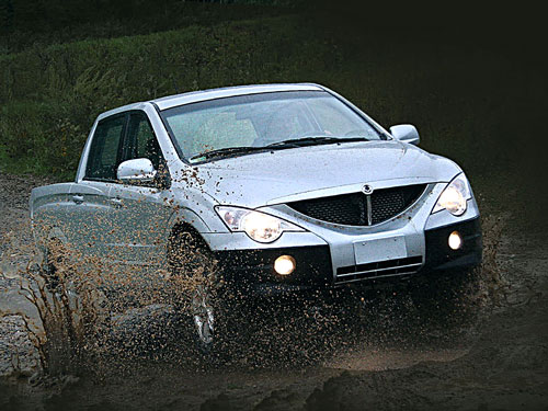 Пикап SsangYong Actyon Sports 2.OXdi