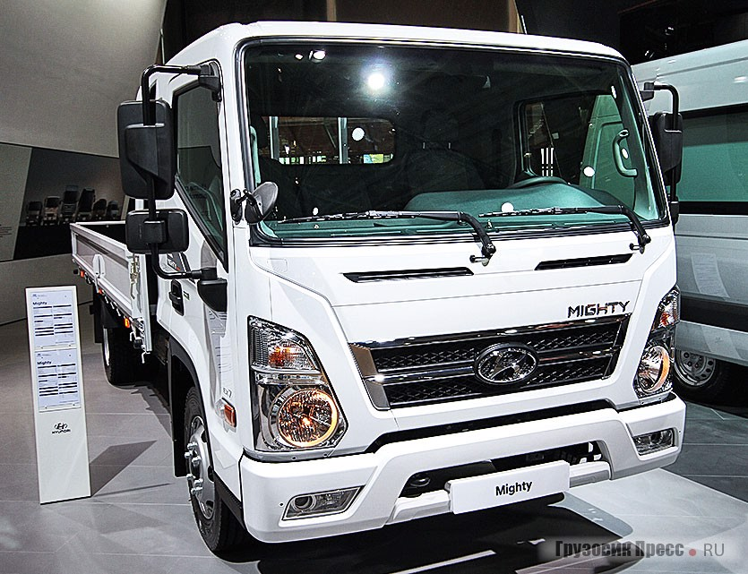 Hyundai Mighty EX7 4x2 Cargo