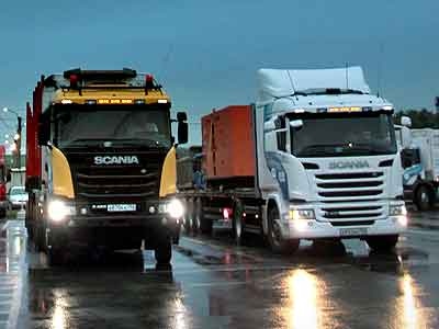 Scania Road Show – 2016